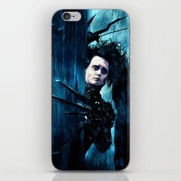 Edward Scissorhands iPhone Skin