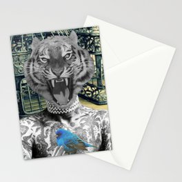 Tigers Share Stationery Cards