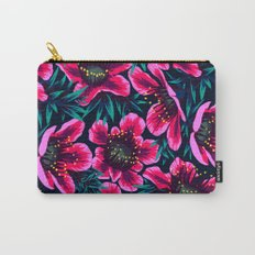 Manuka Floral Print Carry-All Pouch