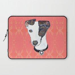 Greyhound Portrait Laptop Sleeve