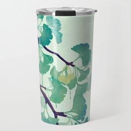 O Ginkgo (in Green) Travel Mug