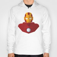 ironman Hoodies featuring IronMan  by Abrie Miller