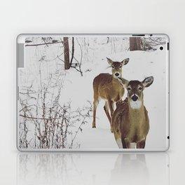 Deer in Winter Laptop & iPad Skin