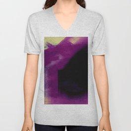 Abstract 14 Unisex V-Neck