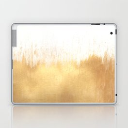 Brushed Gold Laptop & iPad Skin