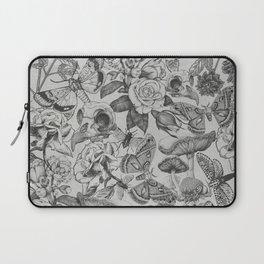 Mystery Garden (grey) Laptop Sleeve