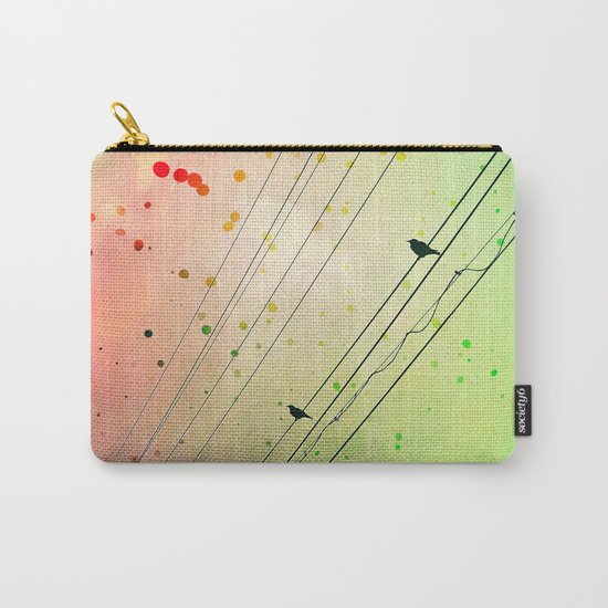 Small Talks Carry-All Pouch