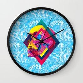 Lifeful Skull Wall Clock