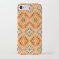 orange pattern iPhone & iPod Cases featuring pattern orange by Christine baessler