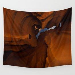 Night - Upper Antelope Canyon, Arizona Wall Tapestry