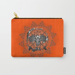 Skull and Crossbones Medallion Carry-All Pouch