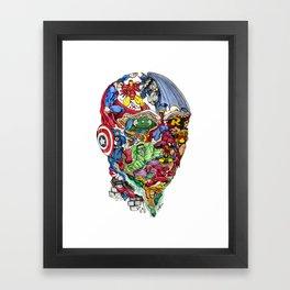 Heroic Mind Framed Art Print