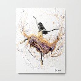 Violetta Ballerina Metal Print