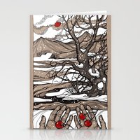 cherry Stationery Cards featuring Cherry by Iris V.