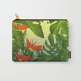Leaf me Tropical Carry-All Pouch