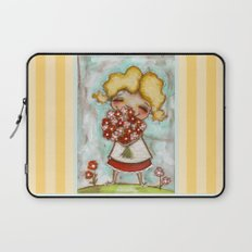 Smells like Spring - by Diane Duda Laptop Sleeve