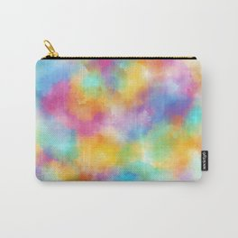 Watercolor Rainbow Abstract Art Carry-All Pouch