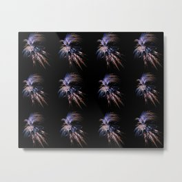 Feather firework Metal Print