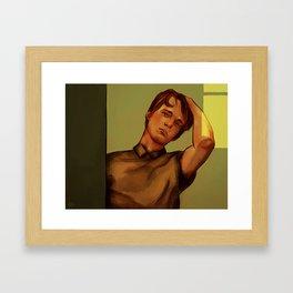 Back so soon? Framed Art Print