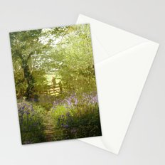 bluebell meadows Stationery Cards