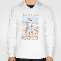 dallas Hoodies featuring Dallas, Texas by Howard Coale