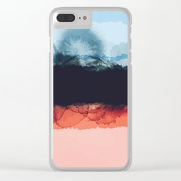 Abstract B4 Clear iPhone Case
