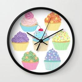 Cupcake Squad Wall Clock