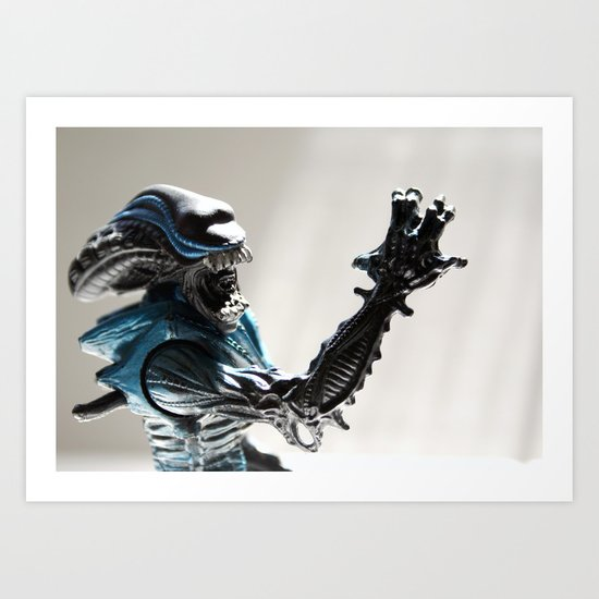 Mr. Alien, Alien Movie Toy Art Print