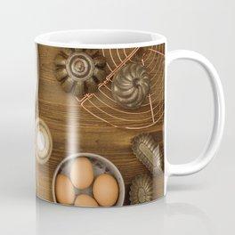 Basic baking ingredients Coffee Mug