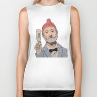zissou Biker Tanks featuring Zissou by The A B Project