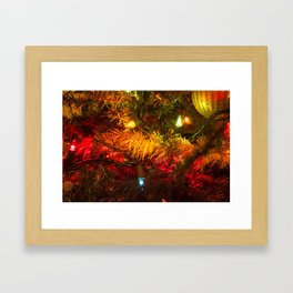 Christmas Lights 4 Framed Art Print