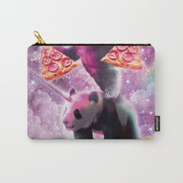 Space Pizza Sloth On Panda Unicorn On Hotdog Carry-All Pouch
