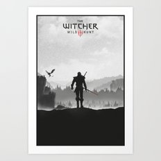 The Witcher: Wild Hunt Art Print