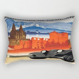 Vintage poster - Germany Rectangular Pillow