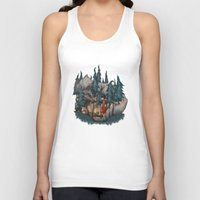 red riding hood Tank Tops featuring Little Red Riding Hood by Anne Lambelet