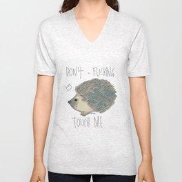 DON'T FUCKING TOUCH ME Unisex V-Neck