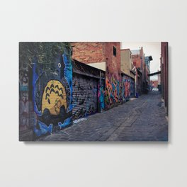 Laneway Metal Print