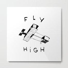 Fly High I Metal Print