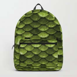 Mermaid Scales | Green with Envy Backpack