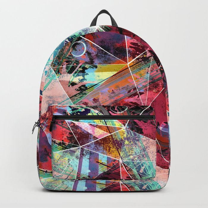 Abstract pattern.6 Backpack