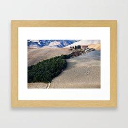Tuscany Landscape Framed Art Print