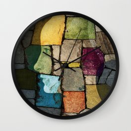 Ghost of the Renaissance Wall Clock