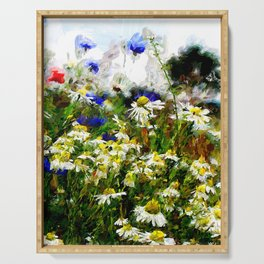 Camomile Meadow Serving Tray