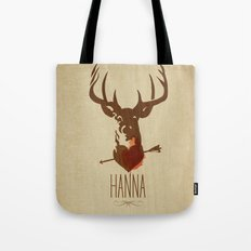 HANNA film tribute poster Tote Bag