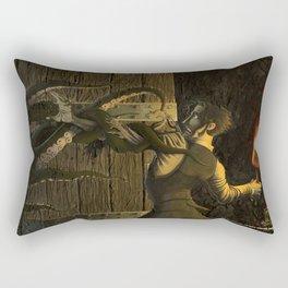 The Horror Beyond the Door Rectangular Pillow