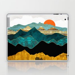 Turquoise Vista Laptop & iPad Skin