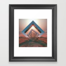 TRIOMETRIC (everyday 03.31.17) Framed Art Print