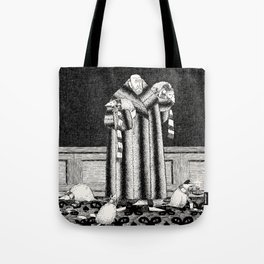 E IS FOR EDWARD, WHO ADOPTED SOME CATS Tote Bag