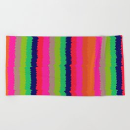 Eva stripe Beach Towel