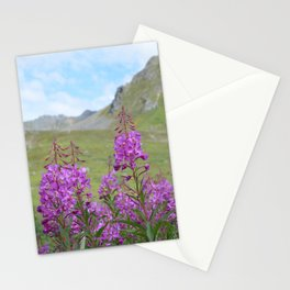 Hatcher Pass Fireweed Stationery Cards